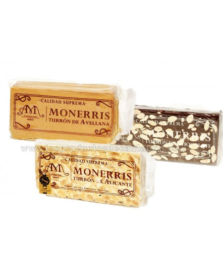 Pack Turron Monerris