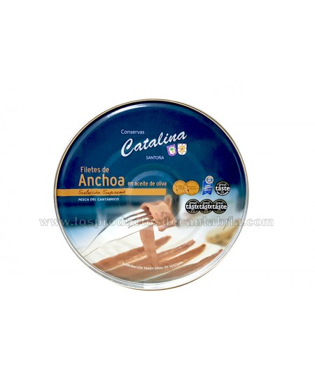 ANCHOAS DE SANTOÑA CATALINA...