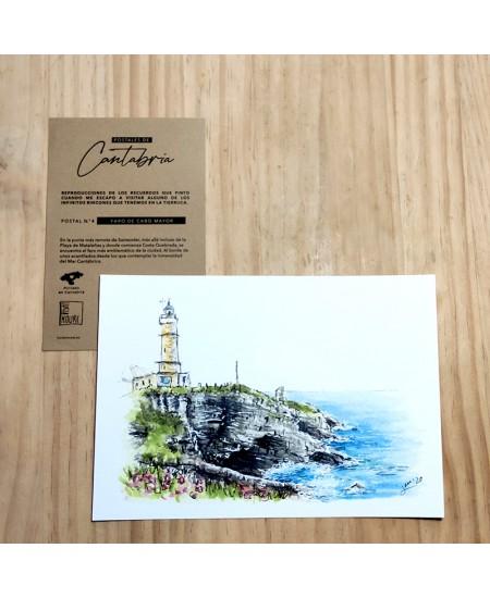Postal 4 Faro de Cabo Mayor...
