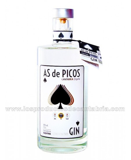 GINEBRA AS DE PICOS 70 cl,...