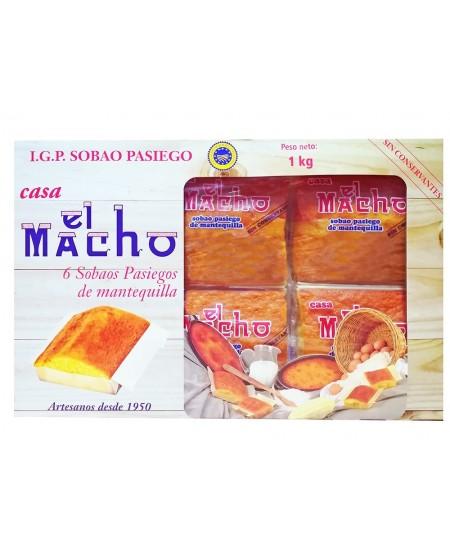 SOBAOS PASIEGOS EL MACHO 6 und